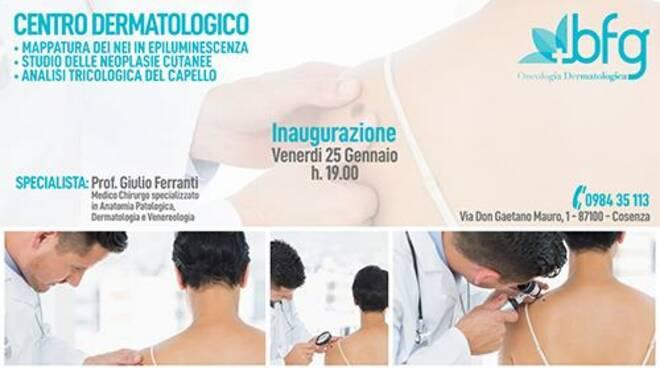 Cosenza Inaugura Un Nuovo Centro Di Dermatologia Cosenzainforma