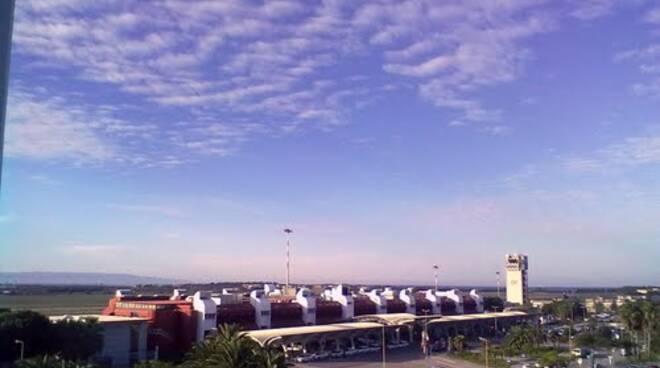 aeroporto lamezia nuvole