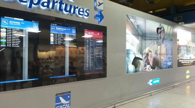 aeroporto schermi