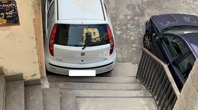 auto blocca scala catanzaro