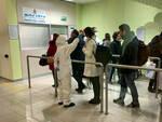 controllo coronavirus aeroporto