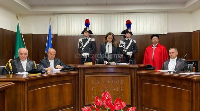 Inaugurazione anno giudiziario corte dei conti calabria