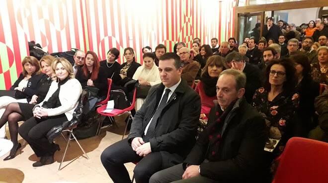 Inaugurazione mostra Pelletti