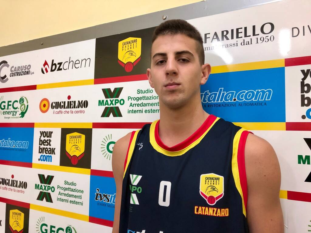 Jovan Miljanic, esterno Planet basket Catanzaro