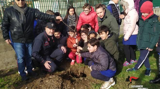 carabinieri forestali donano alberi a scuole calabresi