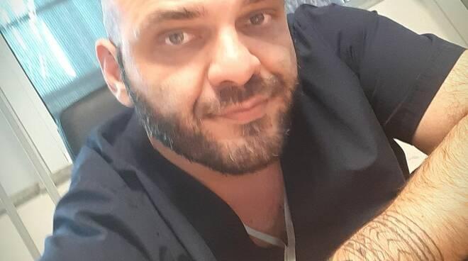 Francesco Anoldo infermiere di Reggio Calabria