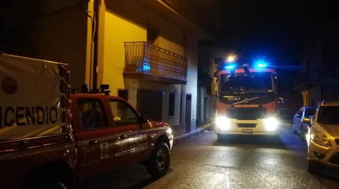 Incendio abitazione Soveria Mannelli