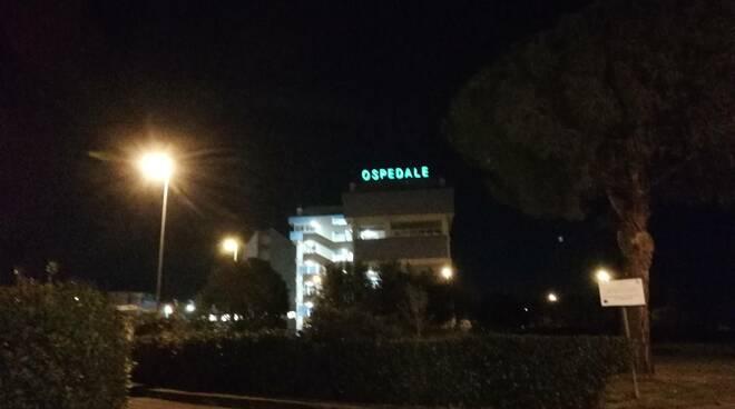 Ospedale Lamezia notte