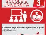 Infografica coronavirus Scuole e università