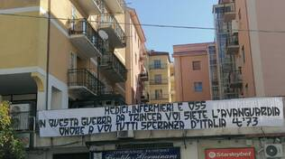 messaggio ultras catanzaro per operatori sanitari pugliese