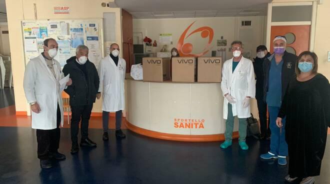 Raffaele Vrenna dona respiratori polmonari ospedale Crotone