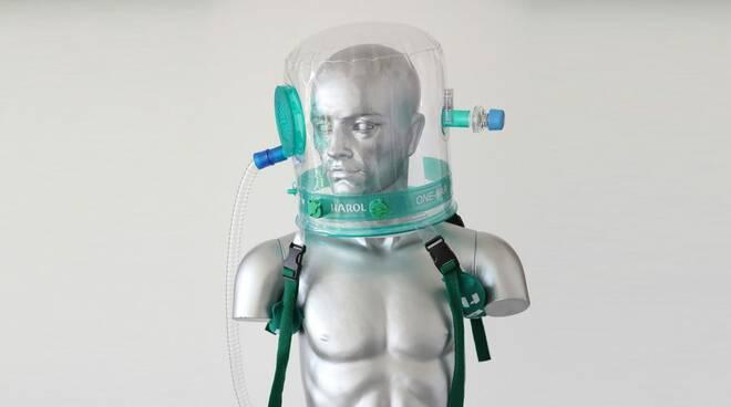caschi respiratori covid