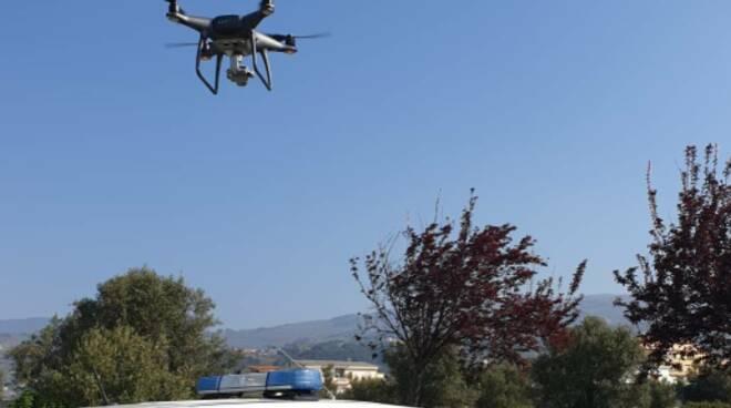 drone polizia locale lamezia