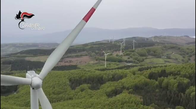 parco eolico san vito sullo ionio