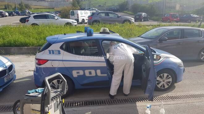 polizia sanificazione