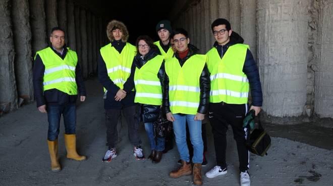 Progetto al Liceo Siciliani monitoraggio civico metropolitana catanzaro