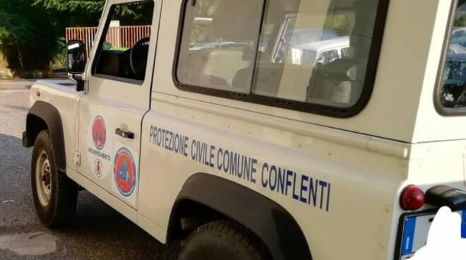 protezione civile conflenti