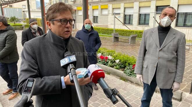 Coronavirus, Santelli incontra il viceministro Sileri