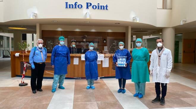 Agesci dona saturimetri a centro covid policlinico catanzaro