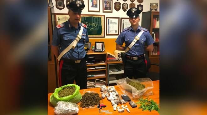 carabinieri santa maria marijuana