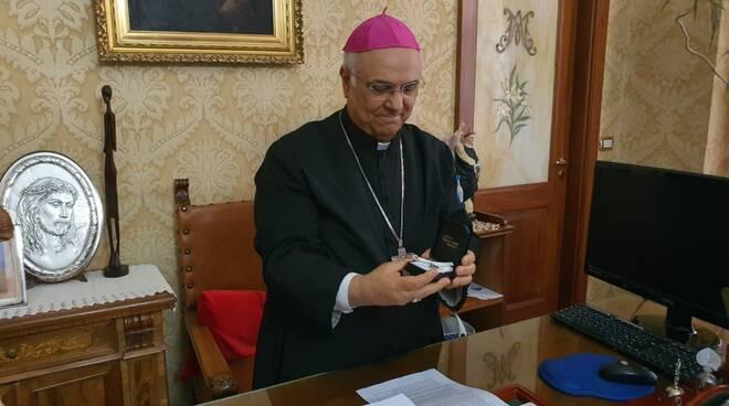 Commercianti incontrano vescovo catanzaro Bertolone