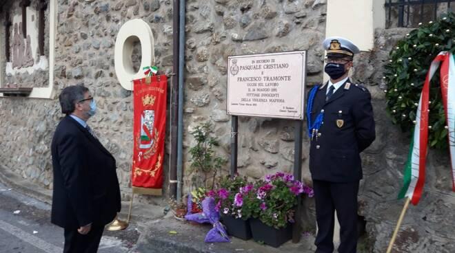 D'Ippolito (M5S) alla commemorazione di Pasquale Cristiano e Francesco Tramonte