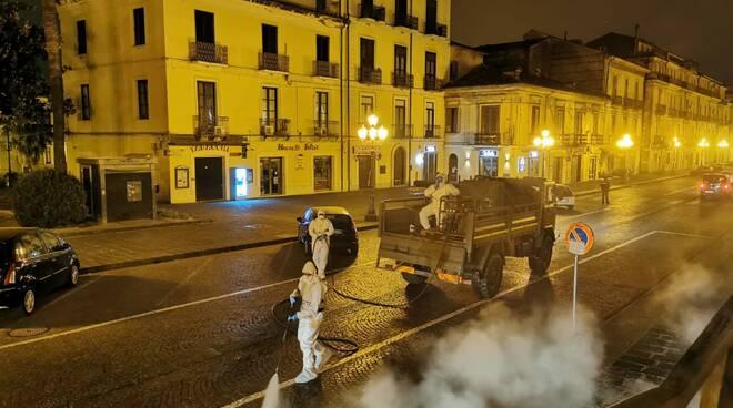 disinfestazione esercito