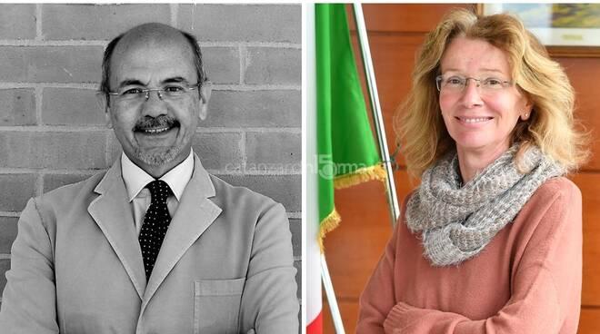 Giovanni Cuda e Sandra Savaglio