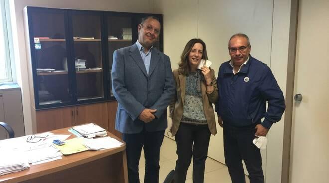 incontro con Cotticelli e Notarangelo Silvia Vono