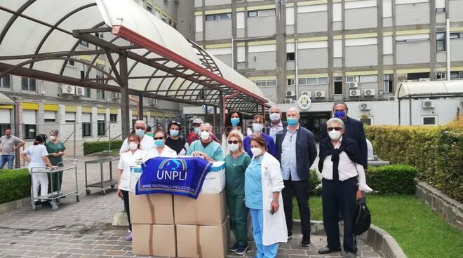 unpli dona a ospedale pugliese dispositivi di protezione