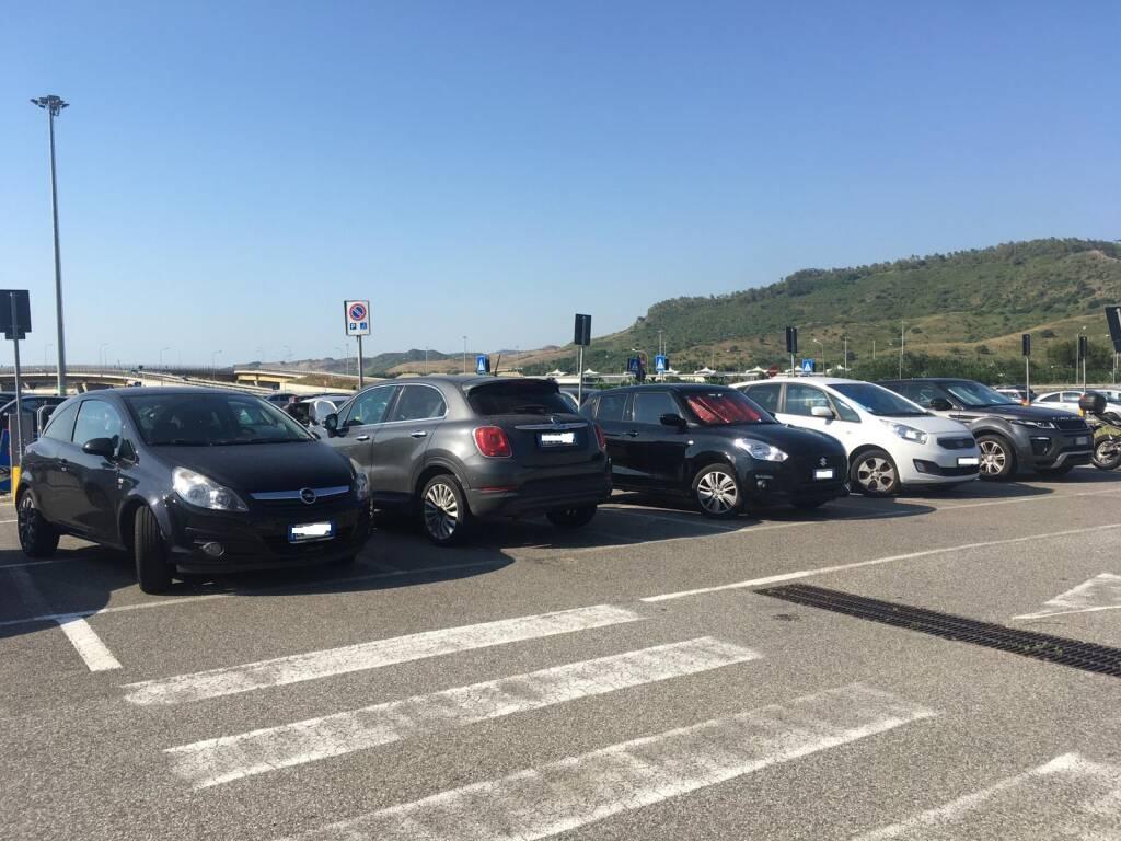 Parcheggi selvaggi cittadella