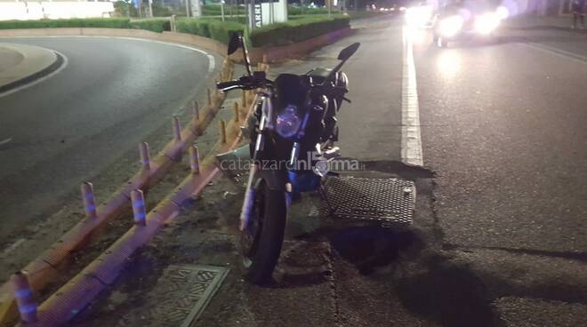 Incidente stradale Catanzaro moto