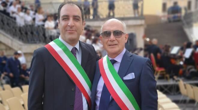sindaco maida e di jacurso Salvatore Paone e Ferdinando Serratore