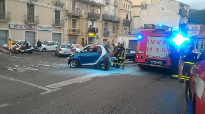 Auto fuoco Mazzini