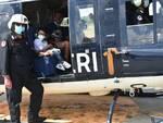 bimbi ricoverati al pugliese in volo con i carabinieri