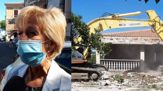 demolizione ville capocolonna