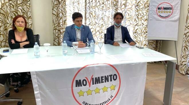 Conferenza stampa m5s