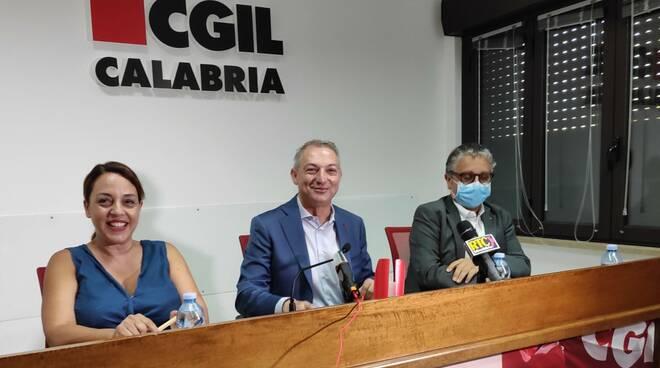 Cgil conferenza stampa