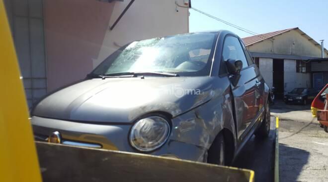 incidente stradale catanzaro galleria squillace 106