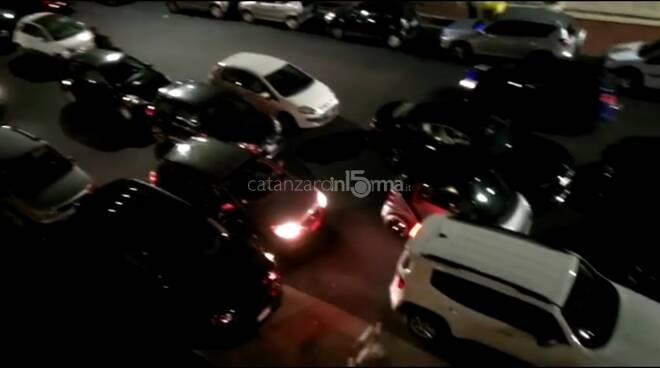isola pedonale quartiere lido catanzaro diventa area parcheggio