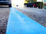 parcheggio linea blu