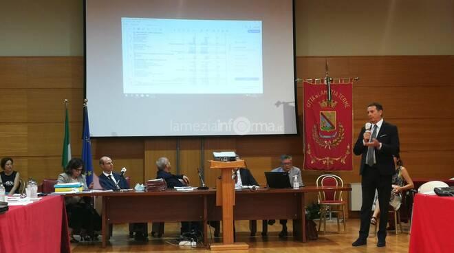 Sandro Zaffina consiglio bilanci