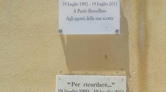 targa Borsellino