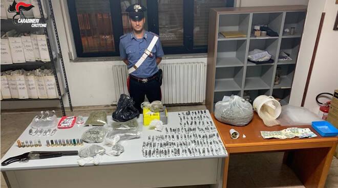 carabinieri armi droga