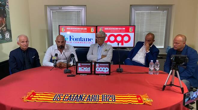Conferenza stampa Calabro