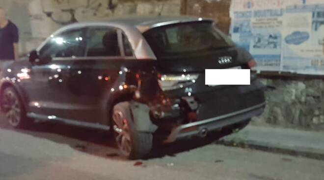 Audi incidente