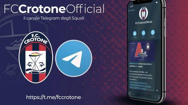 telegram fc crotone