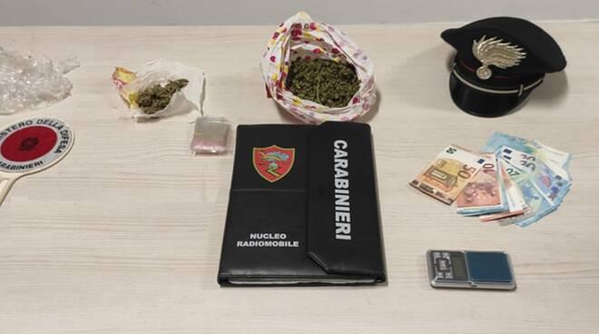 droga in flagranza di reato