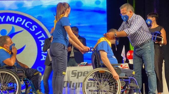 Premiazione Catanzaro special olympics