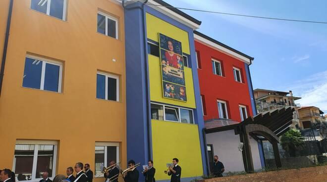 inaugurazione scuola san mango